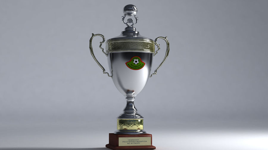 Belarussian Champion Cup royalty-free 3d model - Preview no. 1