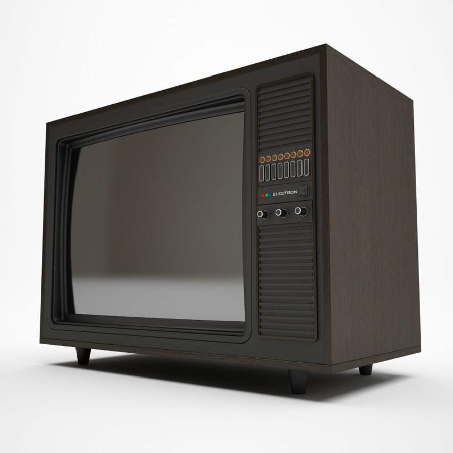 Retro TV 3D Model $20