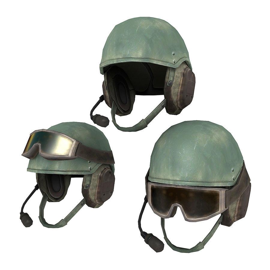 DH-132B Helmet 3D Model $15 -  max  xsi  obj  lwo  fbx - Free3D
