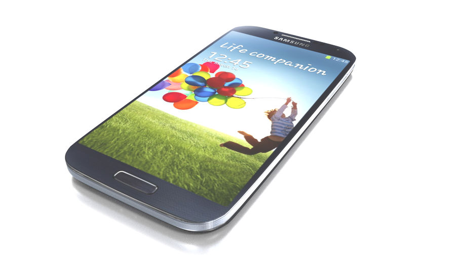 Samsung Galaxy S4 High+Low Poly royalty-free 3d model - Preview no. 5