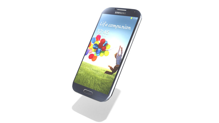 Samsung Galaxy S4 High+Low Poly royalty-free 3d model - Preview no. 8