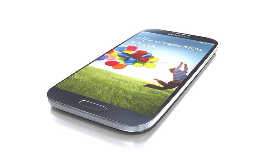 Samsung Galaxy S4 High+Low Poly royalty-free 3d model - Preview no. 1
