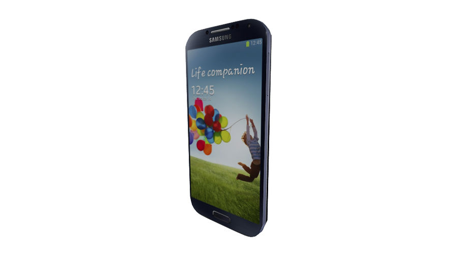 Samsung Galaxy S4 High+Low Poly royalty-free 3d model - Preview no. 13