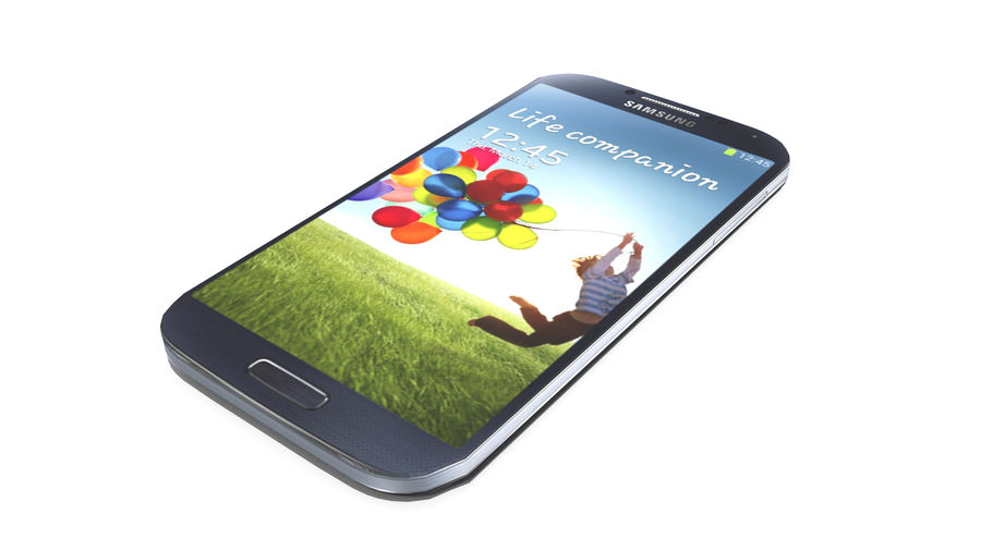 Samsung Galaxy S4 High+Low Poly royalty-free 3d model - Preview no. 2