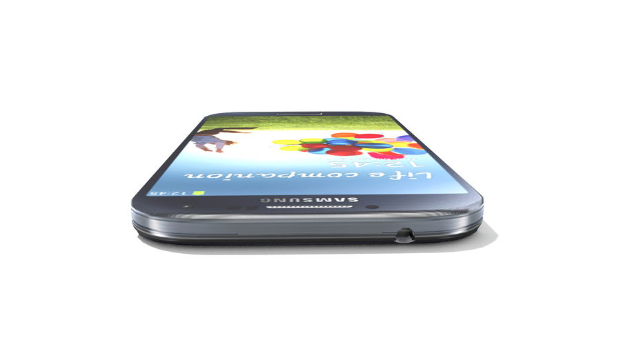Samsung Galaxy S4 High+Low Poly royalty-free 3d model - Preview no. 7