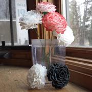 Fleur de carnation 3D imprimable 3d model