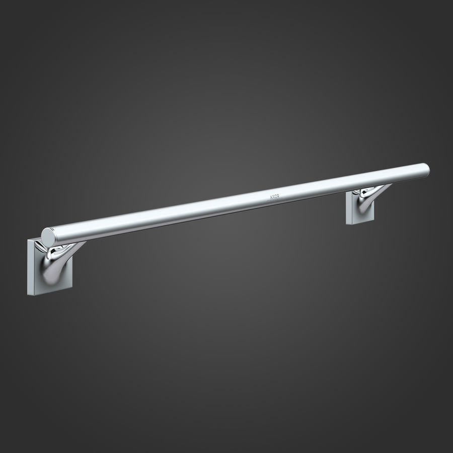 Hansgrohe Axor Starck Organic 42706000 royalty-free 3d model - Preview no. 2