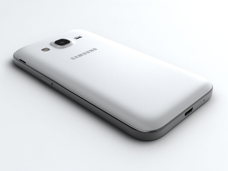 Samsung Galaxy Core Prime royalty-free modelo 3d - Preview no. 4