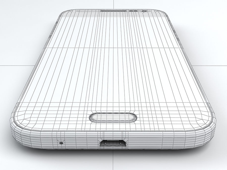 Samsung Galaxy Core Prime royalty-free modelo 3d - Preview no. 23
