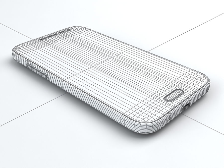 Samsung Galaxy Core Prime royalty-free modelo 3d - Preview no. 21