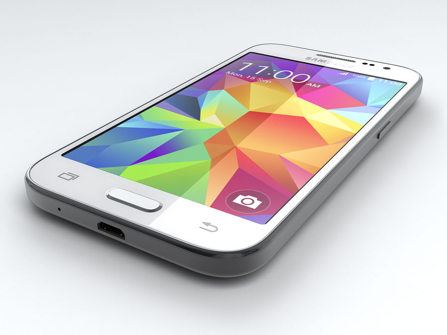 Samsung Galaxy Core Prime royalty-free modelo 3d - Preview no. 9