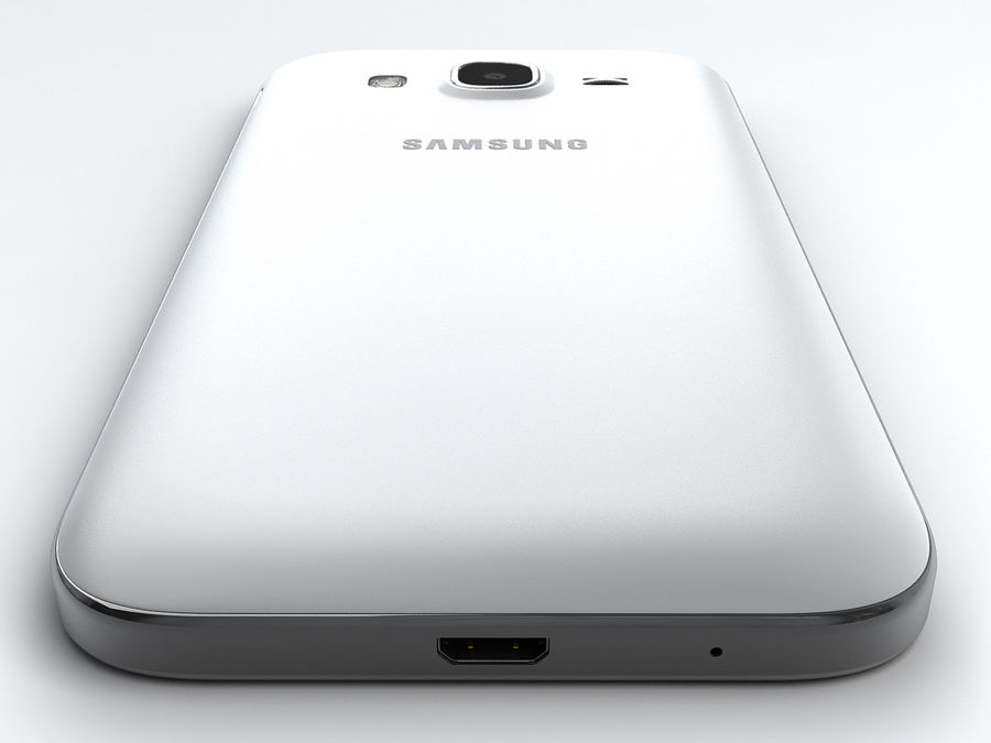 Samsung Galaxy Core Prime royalty-free modelo 3d - Preview no. 8