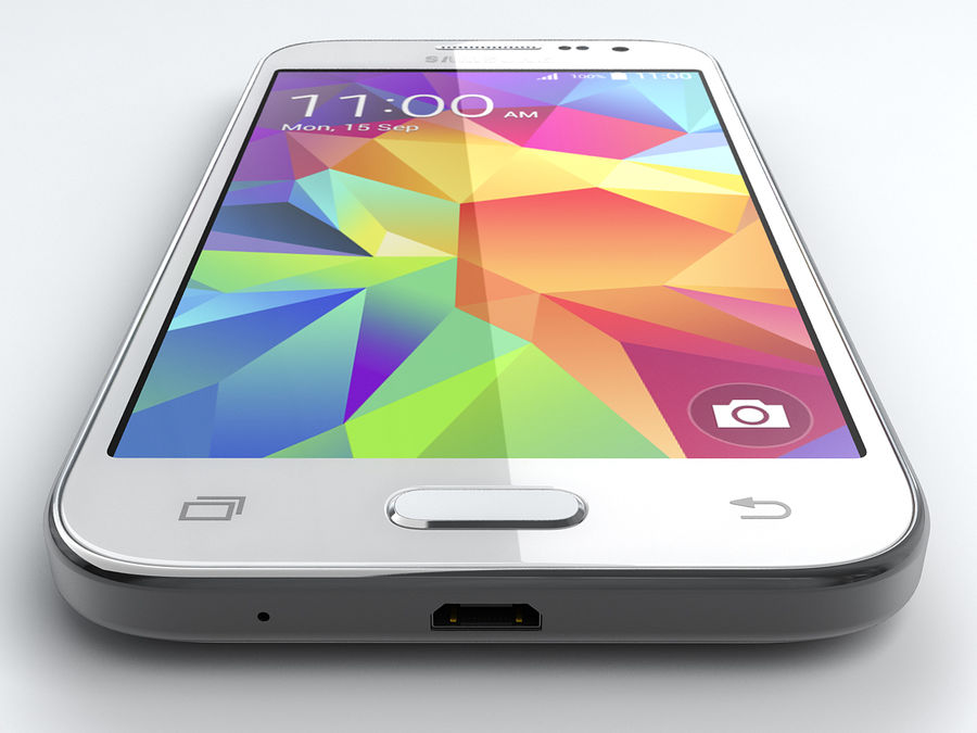 Samsung Galaxy Core Prime royalty-free modelo 3d - Preview no. 5