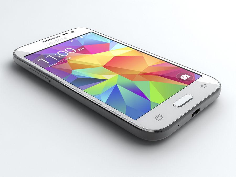 Samsung Galaxy Core Prime royalty-free modelo 3d - Preview no. 1