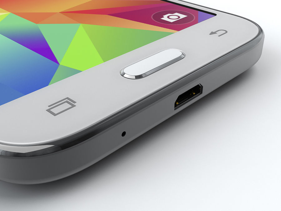Samsung Galaxy Core Prime royalty-free modelo 3d - Preview no. 19