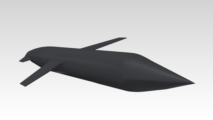 AGM-129 royalty-free 3d model - Preview no. 5