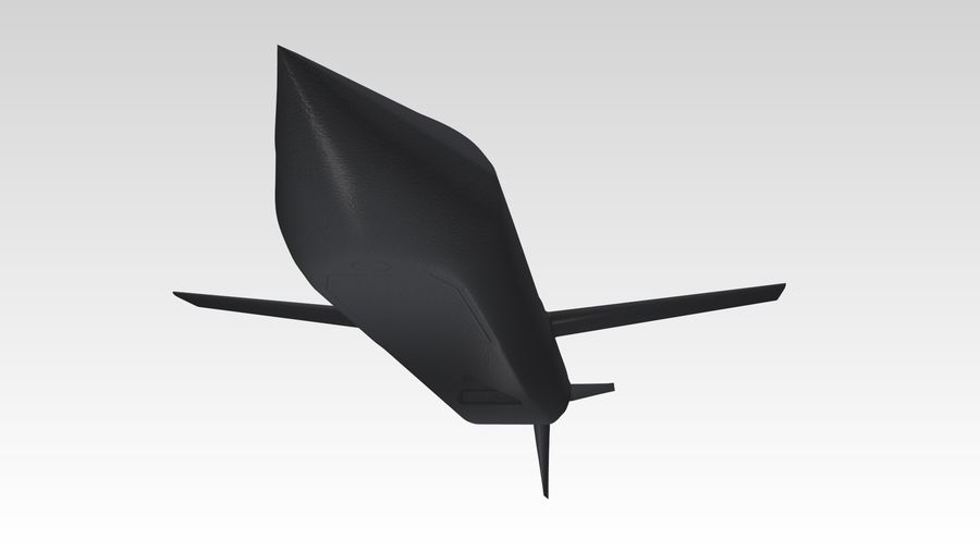 AGM-129 royalty-free 3d model - Preview no. 9