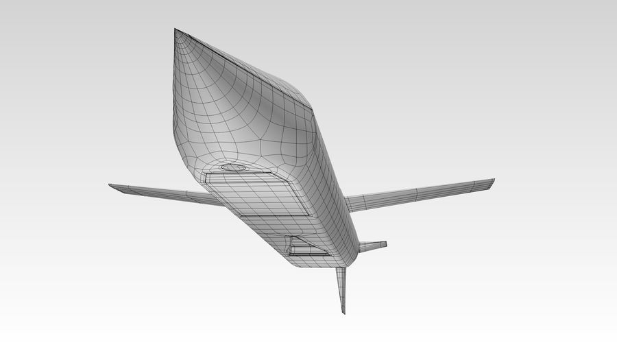 AGM-129 royalty-free 3d model - Preview no. 10