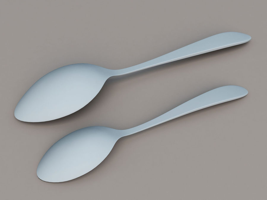 Spoons A royalty-free 3d model - Preview no. 6