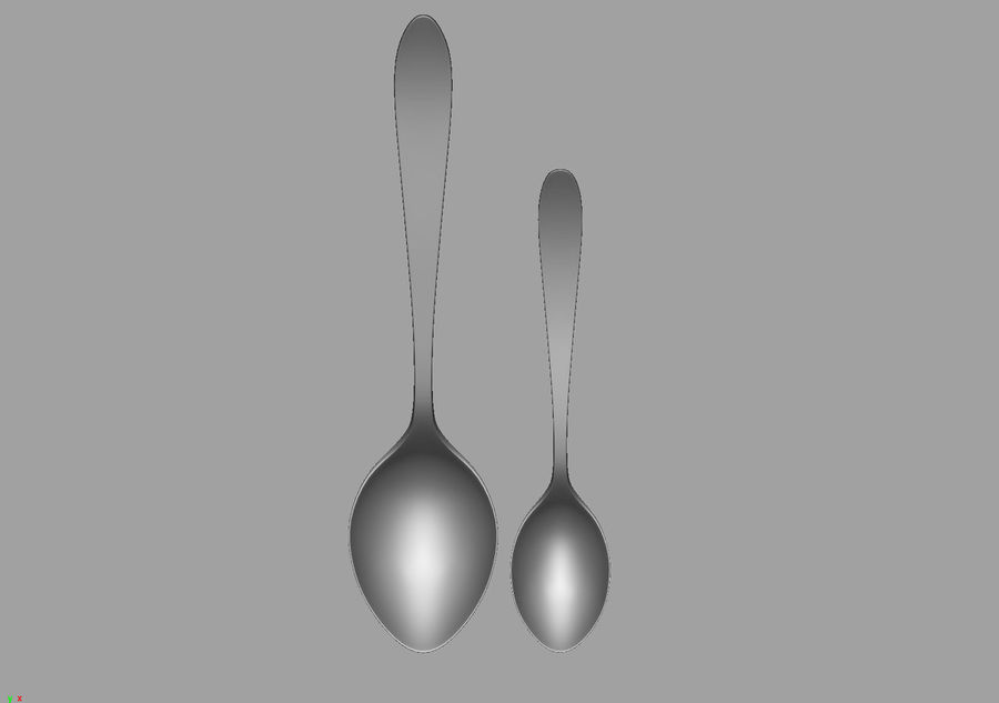 Spoons A royalty-free 3d model - Preview no. 14