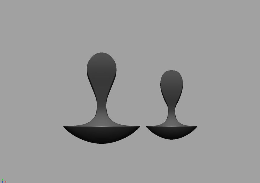 Spoons A royalty-free 3d model - Preview no. 10