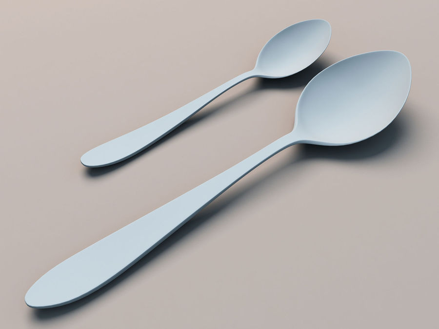 Spoons A royalty-free 3d model - Preview no. 4