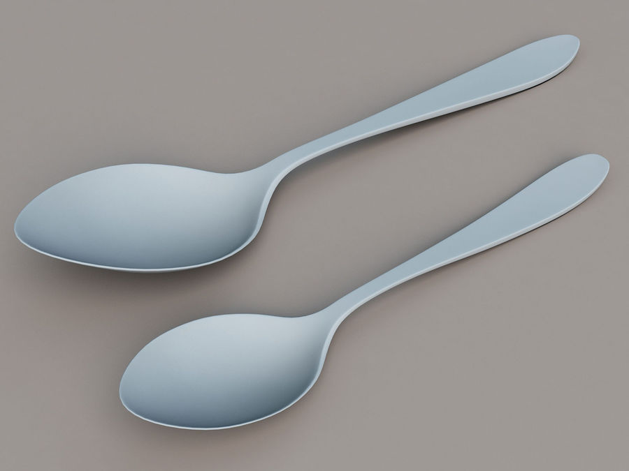 Spoons A royalty-free 3d model - Preview no. 5