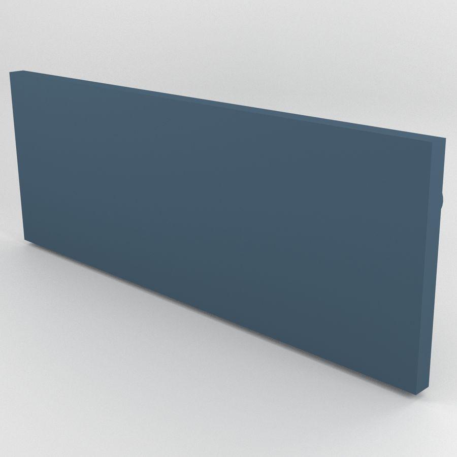 Cockpit Door Control Panel royalty-free 3d model - Preview no. 5