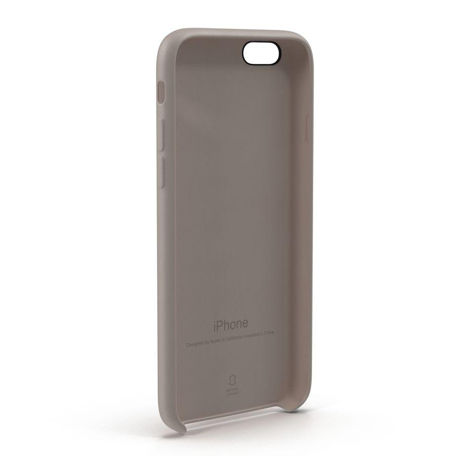 capa de couro do iPhone 6 rosa royalty-free 3d model - Preview no. 6