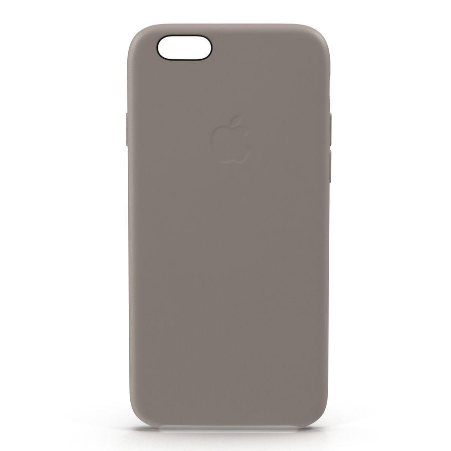 capa de couro do iPhone 6 rosa royalty-free 3d model - Preview no. 4