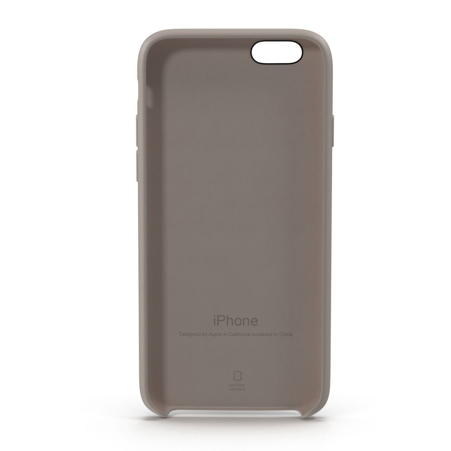 capa de couro do iPhone 6 rosa royalty-free 3d model - Preview no. 7