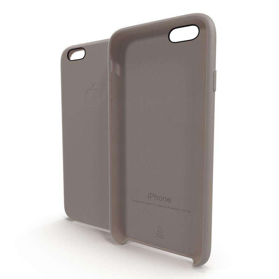 capa de couro do iPhone 6 rosa royalty-free 3d model - Preview no. 2