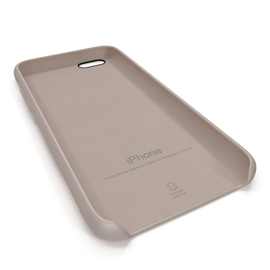 capa de couro do iPhone 6 rosa royalty-free 3d model - Preview no. 17