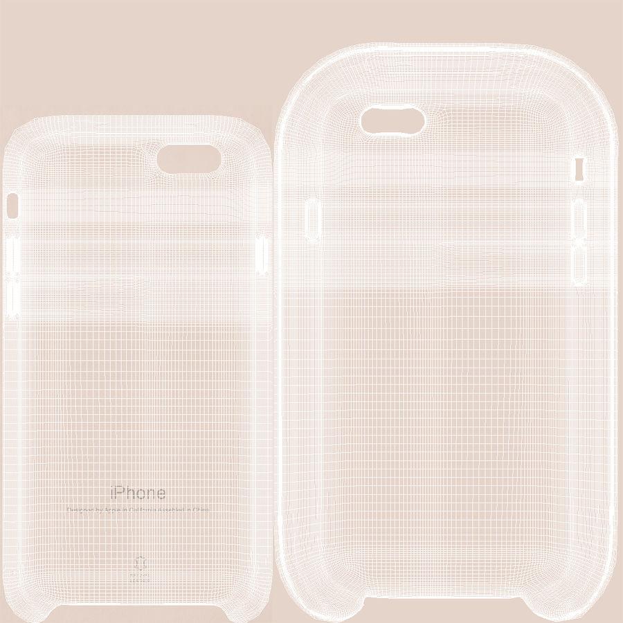 capa de couro do iPhone 6 rosa royalty-free 3d model - Preview no. 21