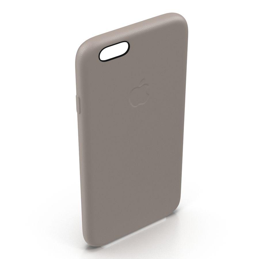 capa de couro do iPhone 6 rosa royalty-free 3d model - Preview no. 10