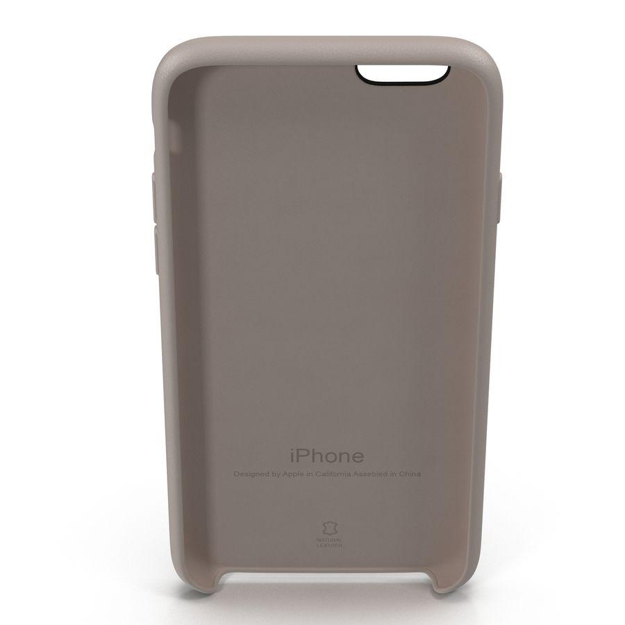 capa de couro do iPhone 6 rosa royalty-free 3d model - Preview no. 8