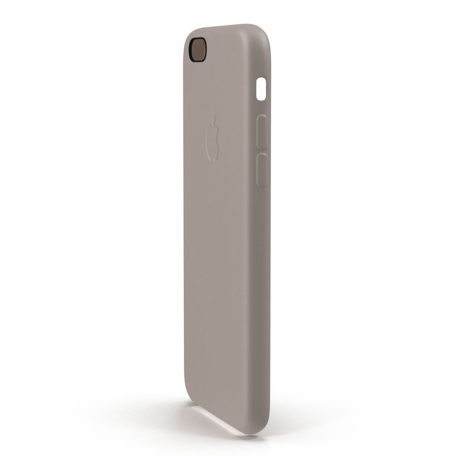 capa de couro do iPhone 6 rosa royalty-free 3d model - Preview no. 5