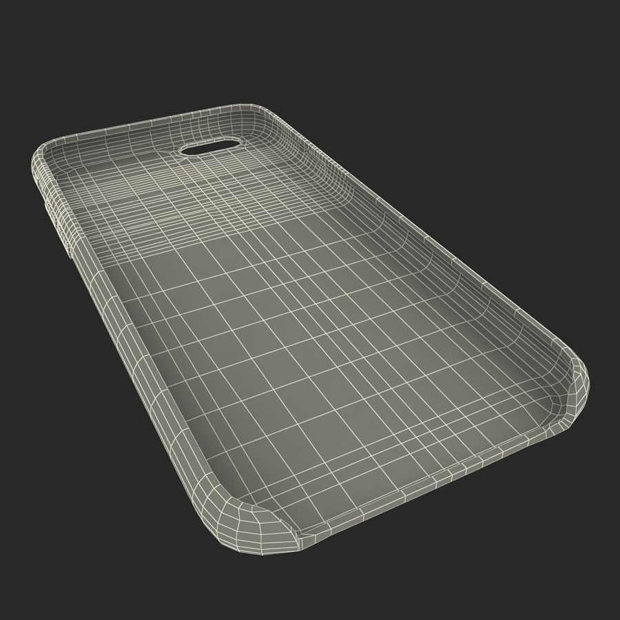 capa de couro do iPhone 6 rosa royalty-free 3d model - Preview no. 29