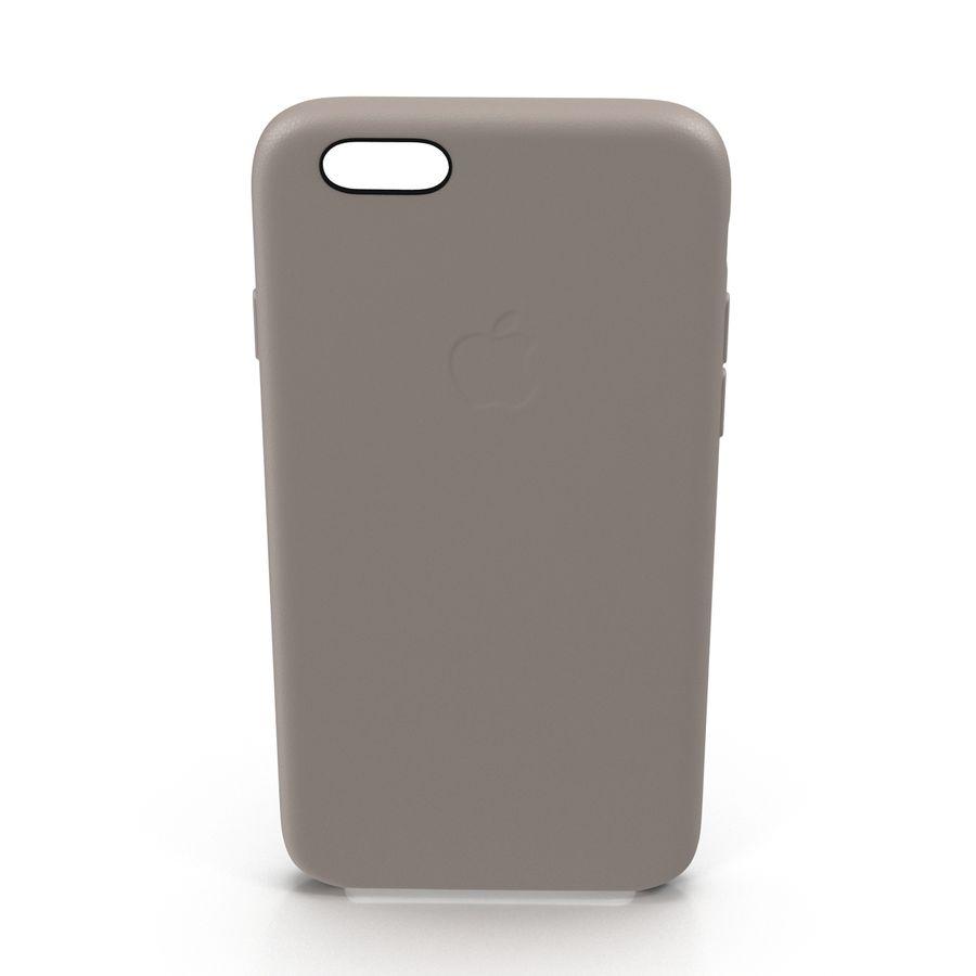 capa de couro do iPhone 6 rosa royalty-free 3d model - Preview no. 3