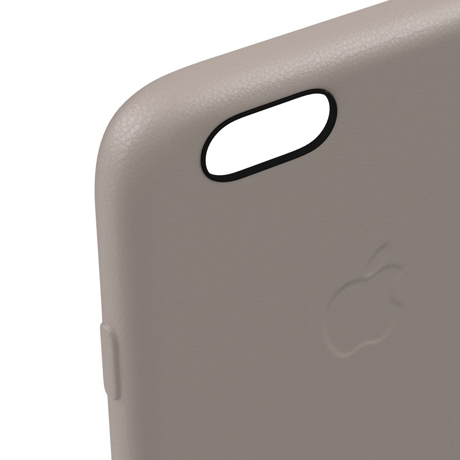 capa de couro do iPhone 6 rosa royalty-free 3d model - Preview no. 13