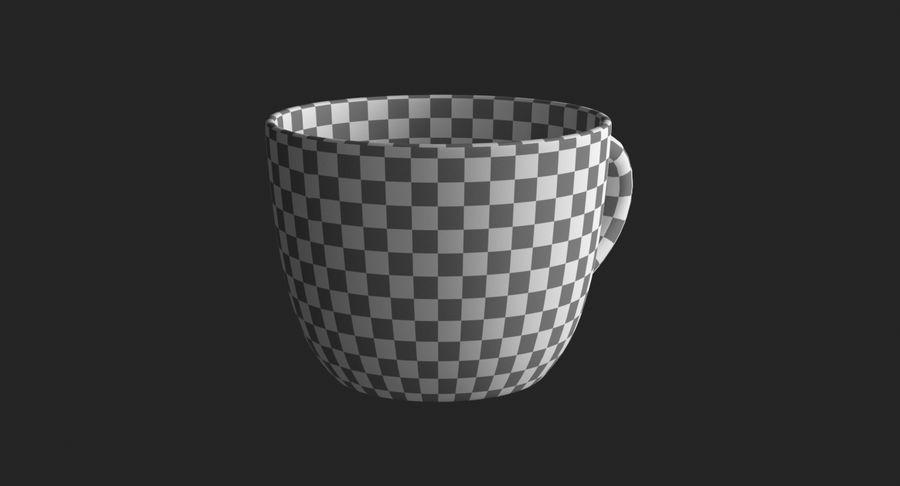 Kahve fincanı royalty-free 3d model - Preview no. 18