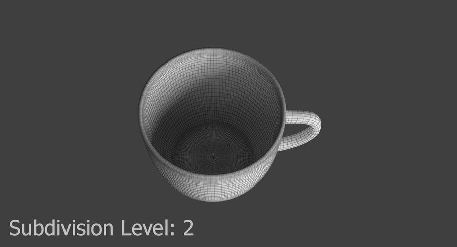 Kahve fincanı royalty-free 3d model - Preview no. 15