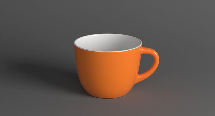 Kahve fincanı royalty-free 3d model - Preview no. 2