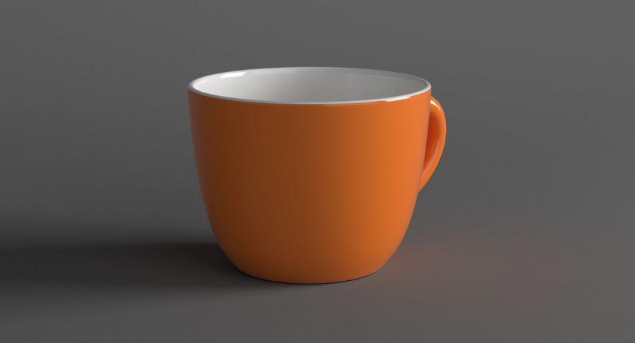 Kahve fincanı royalty-free 3d model - Preview no. 3