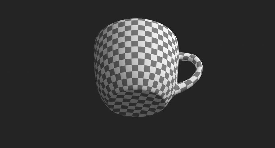 Kahve fincanı royalty-free 3d model - Preview no. 21