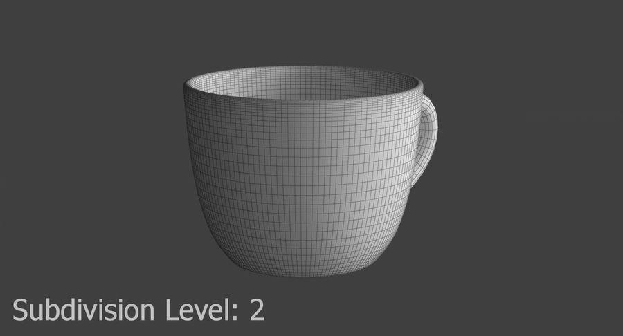 Kahve fincanı royalty-free 3d model - Preview no. 13