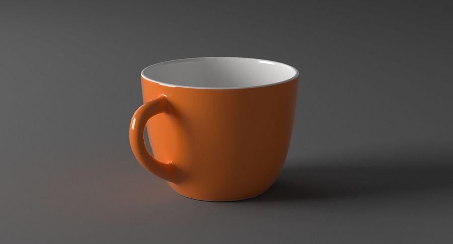 Kahve fincanı royalty-free 3d model - Preview no. 4