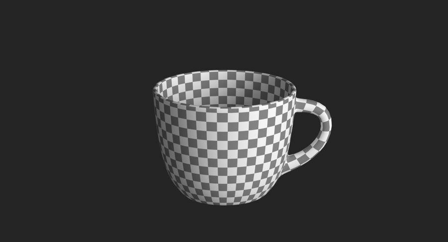 Kahve fincanı royalty-free 3d model - Preview no. 17