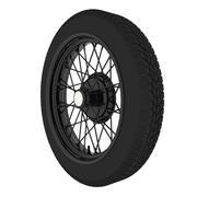 Austin Wheel 3d model