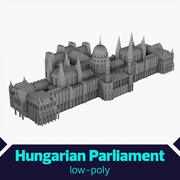 Hungarian Parliament 3d model